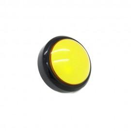 Кнопка декоративная большая с круглым краем - 100 мм