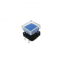 Кнопка-переключатель с прозрачным верхом (5 штук)