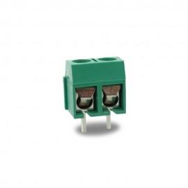 Контактный блок с винтовыми фиксаторами 5,0 мм 2- полюсный