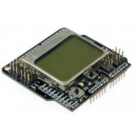 Графический дисплей LCD4884 Shield для Arduino