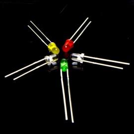 Набор LED 3 мм (50 штук)