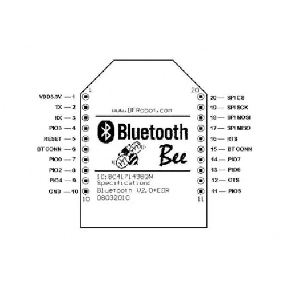 Bluetooth Bee радиомодуль для Arduino