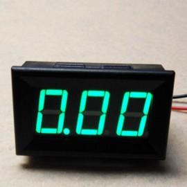 Амперметр до 10 А (зеленый LED)