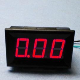 Амперметр до 10 А (красный, LED)