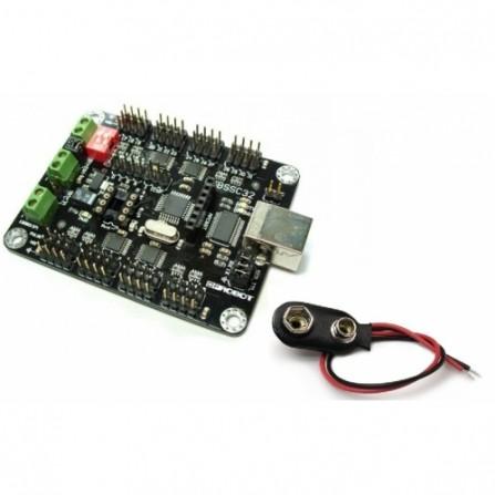 Серво Контроллер USB для Arduino (32 сервопривода)