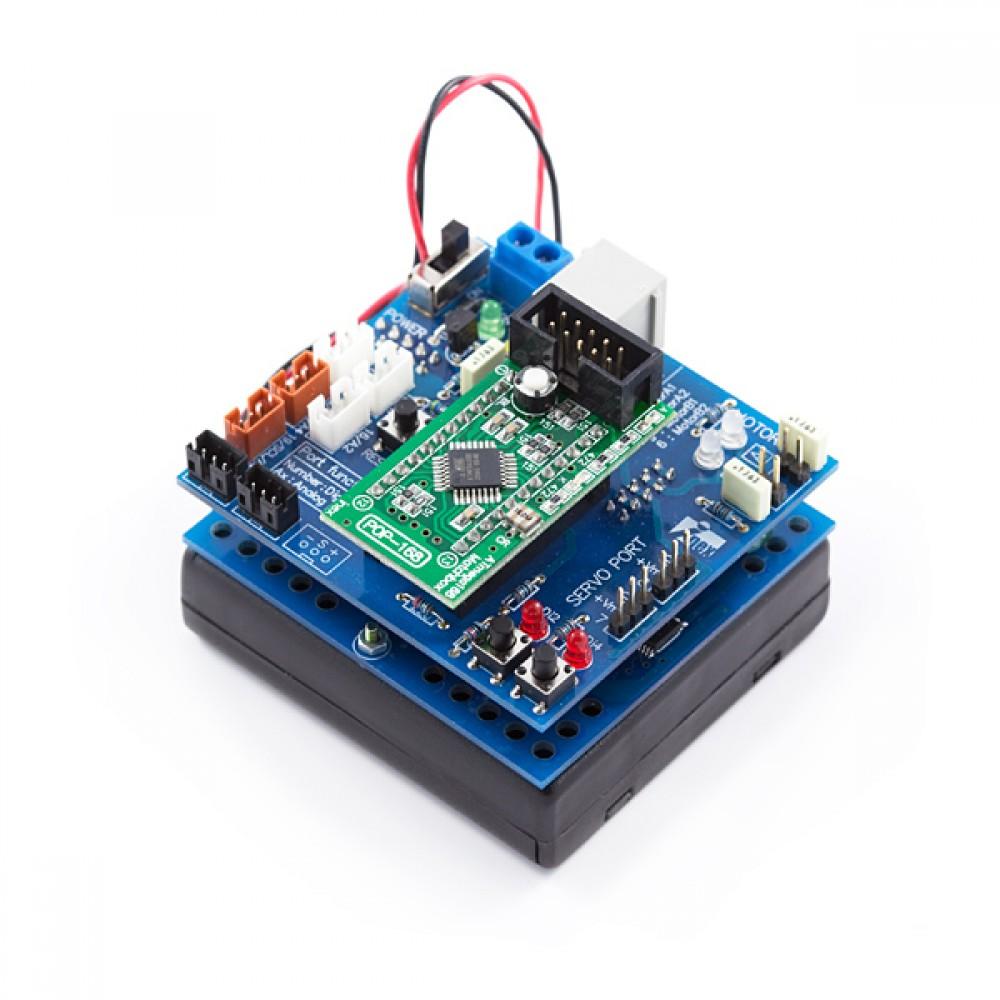 Robotics Kit - POP-BOT (ATmega168) (распродажа)