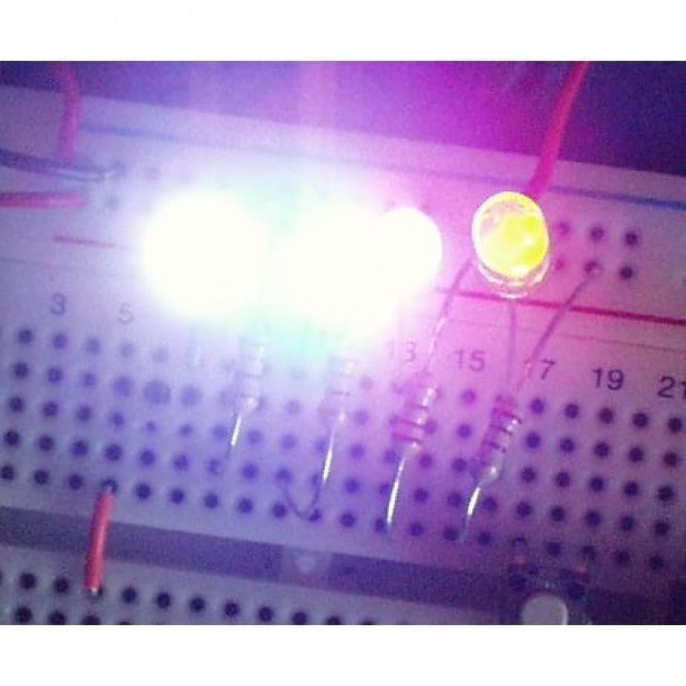 LED-индикатор, Яркий красный