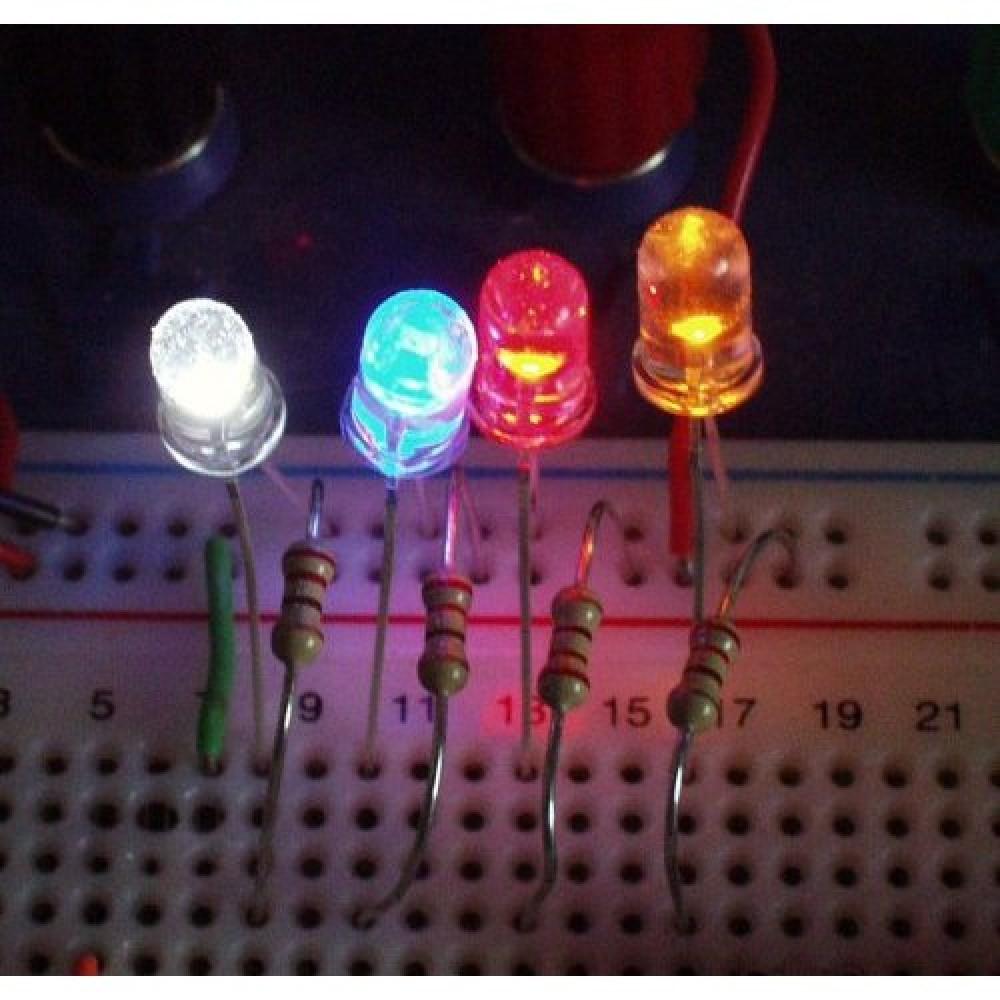 LED-индикатор, Яркий желтый