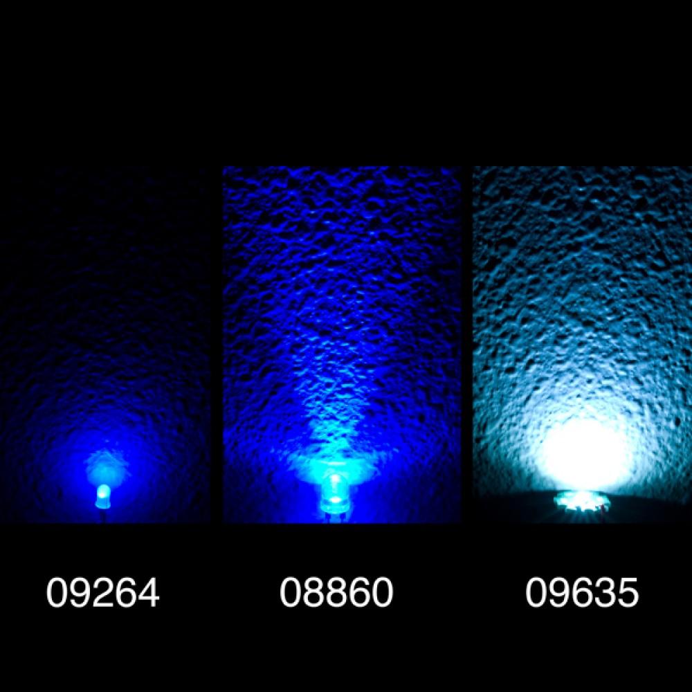 Мощная LED-лампа Luxeon Rebel  - Белая холодная 120 Люмен