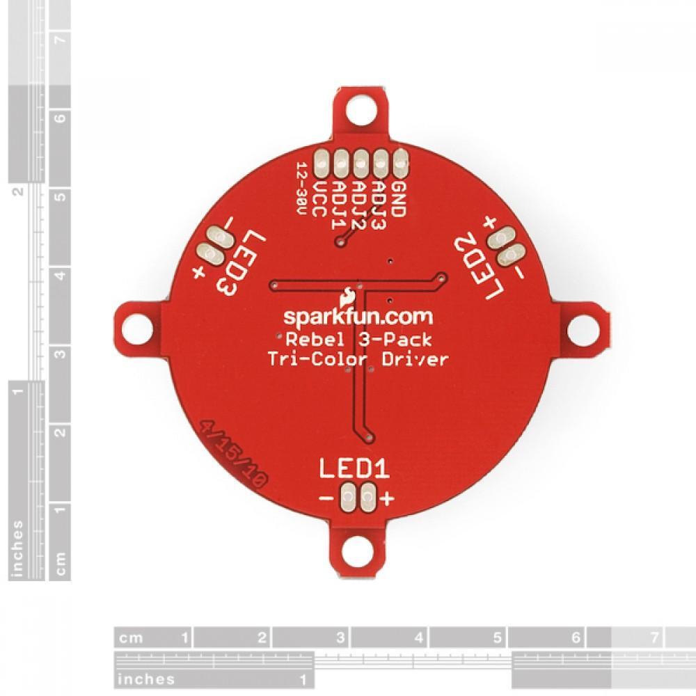 Драйвер Luxeon Rebel LED Tri-Color Driver