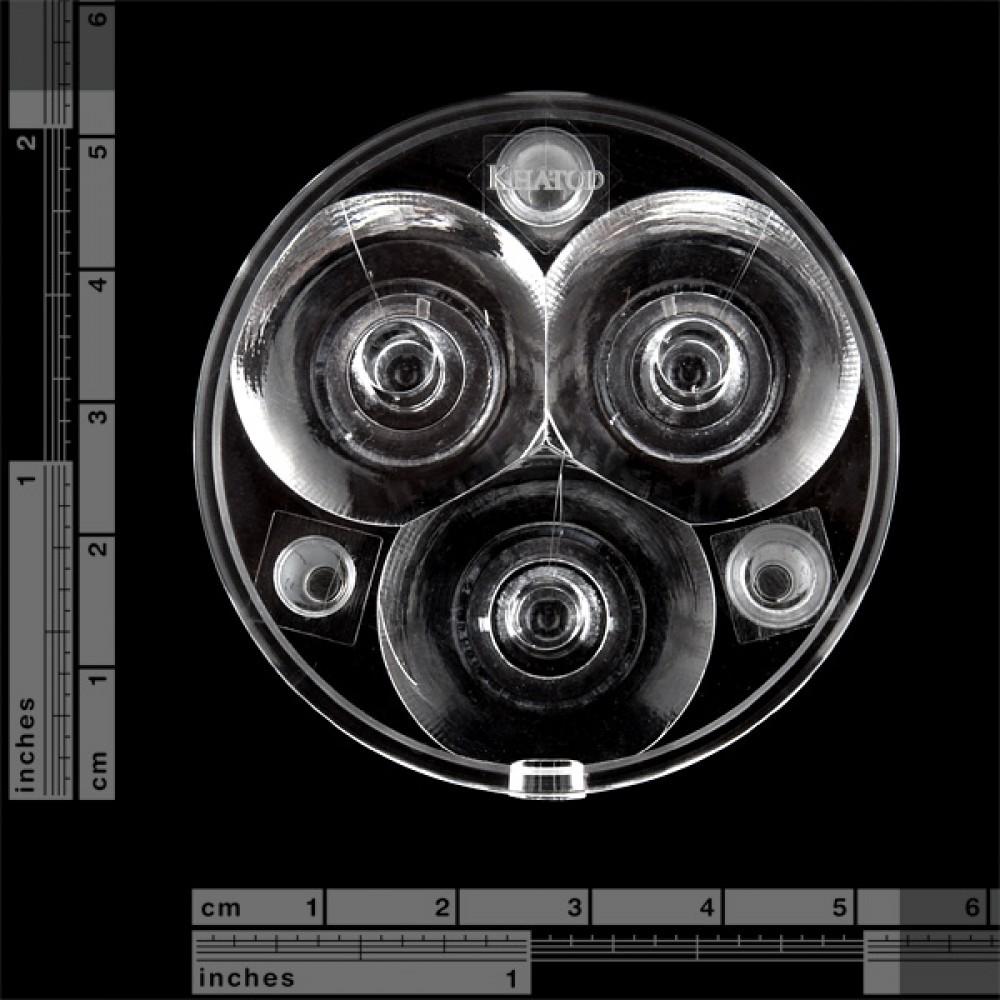 Luxeon Rebel Triple-LED - узкий корпус