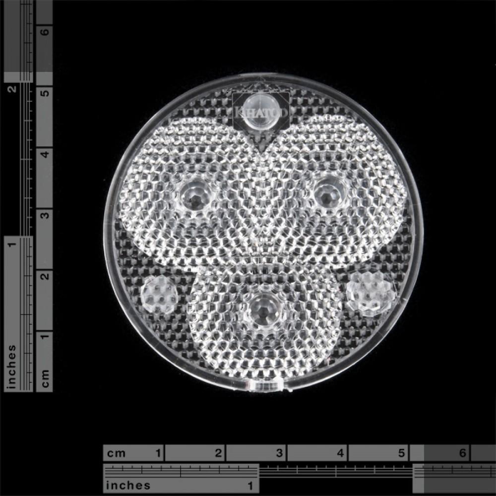 Luxeon Rebel Triple-LED - широкий корпус
