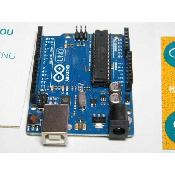 Arduino Uno оригинал, ИТАЛИЯ, NEW! (REV3)