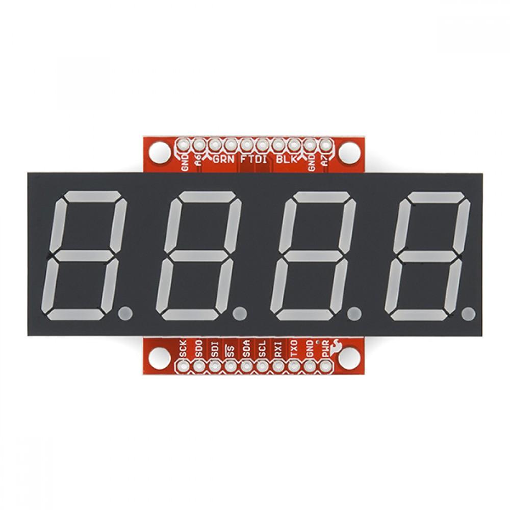 Серийный дисплей OpenSegment - 20 мм (белый)