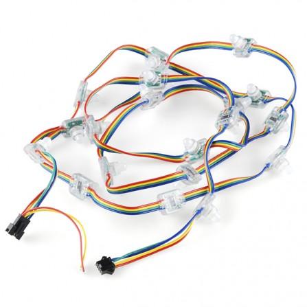 Лента RGB LED Chain - 20 LED