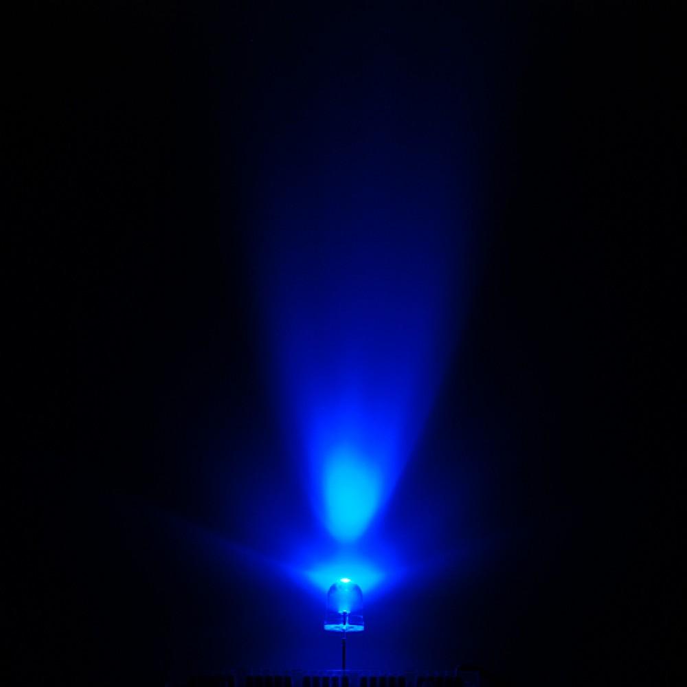 Super Bright LED светодиод - синий 10 мм
