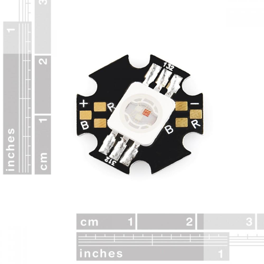 Мощный RGB-светодиод - Triple Output High Power RGB LED