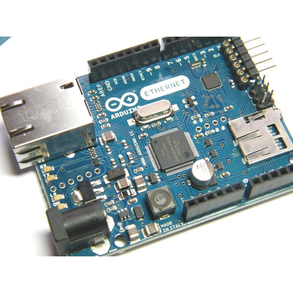 Arduino Ethernet W5100 + ATMEGA328 ОРИГИНАЛ ИТАЛИЯ REV3