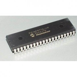 PIC 40 Pin 20MHz 8K 8A/D - 16F877A