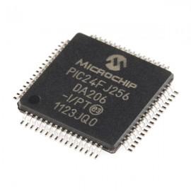 Микроконтроллер PIC24FJ256DA206-I/PT