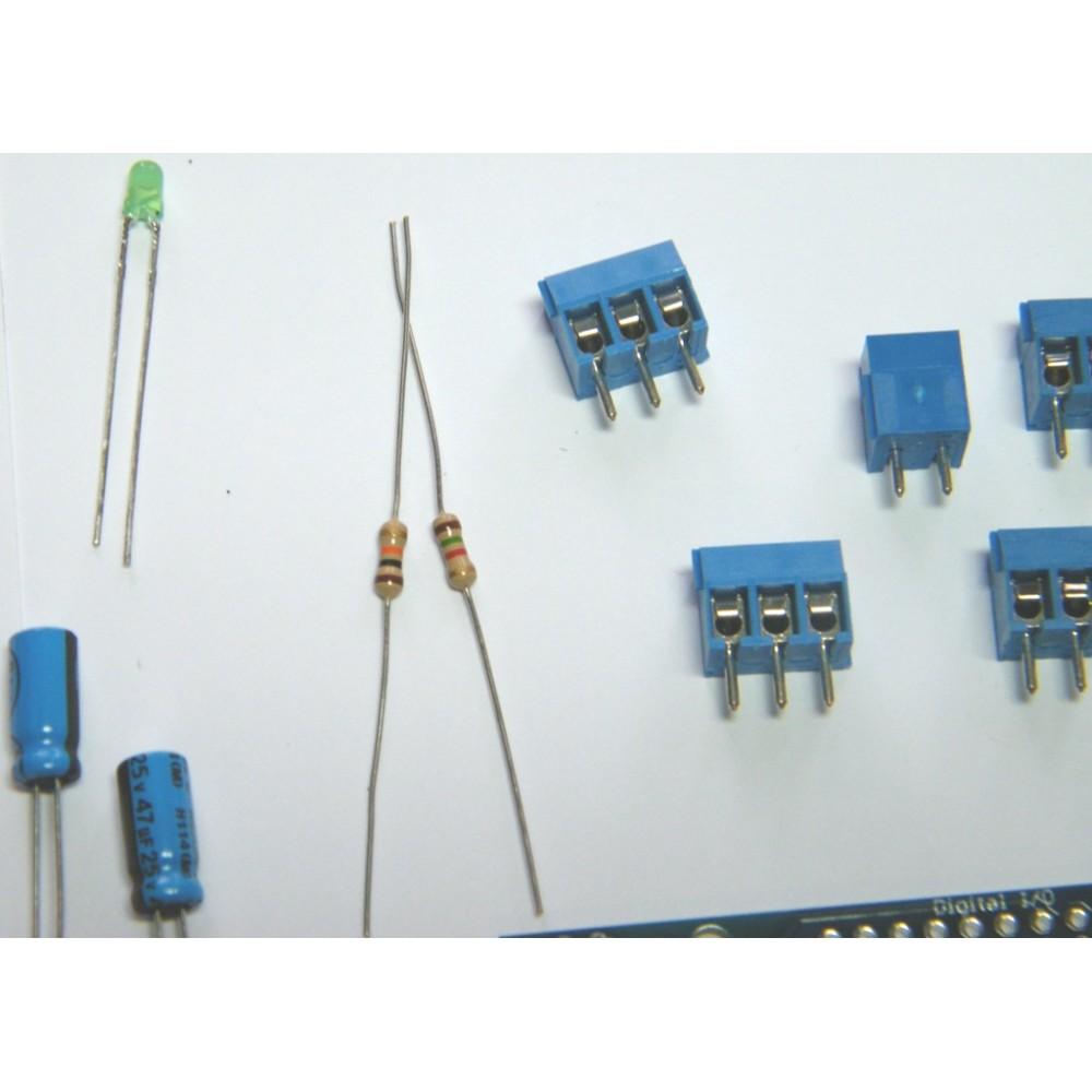 Adafruit Motor/Stepper/Servo Шилд kit для Arduino
