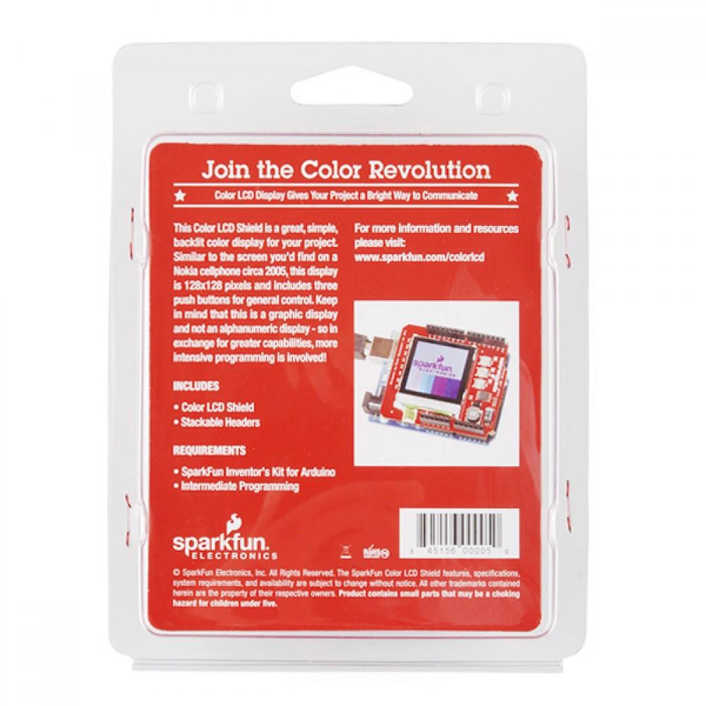 Шилд Color LCD Shield - розничная версия