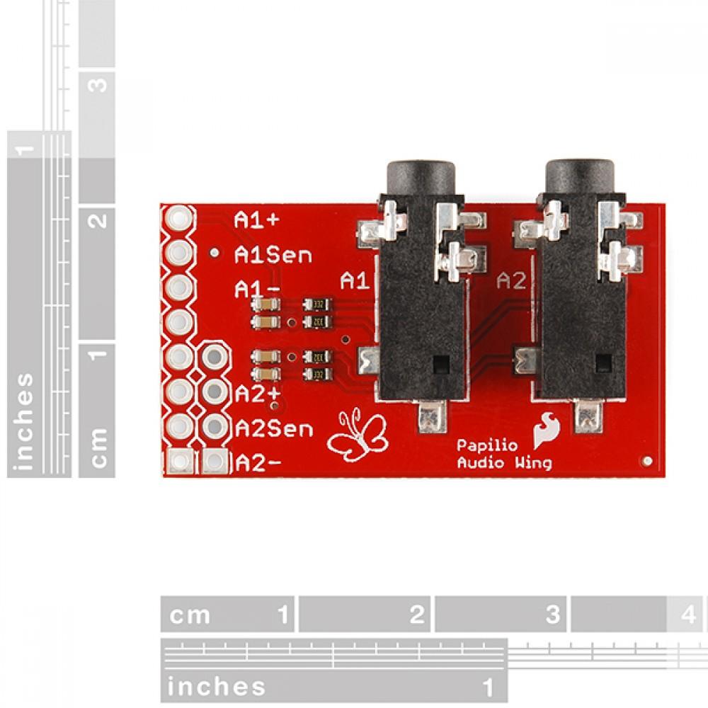 Звуковая плата Papilio Audio Wing для Arduino