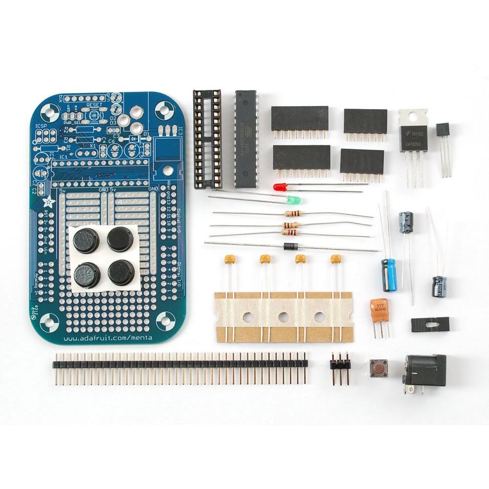 Набор MENTA - совместимый с Arduino Mint Tin
