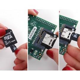 Адаптер MicroSD-карт низкопрофильный для Raspberry Pi