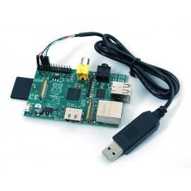 Коннектор для серийного кабеля USB --> TTL - Debug / кабеля для подключения консоли в Raspberry Pi