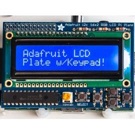 Дисплей сине-белый 16x2 LCD + Набор для сборки клавиатуры для Raspberry Pi