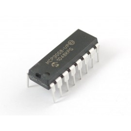 Микросхема MCP3008 - 8-Channel 10-Bit ADC с SPI интерфейсом