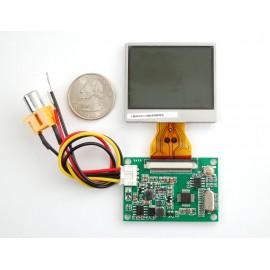"Дисплей TFT телевизионный - NTSC/PAL - 2.0"""