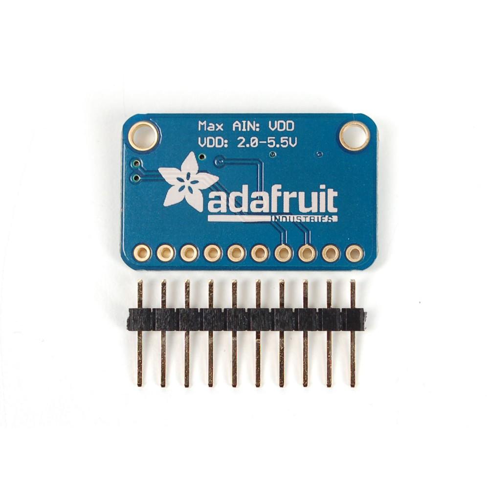 Плата ADS1015 - 12-битный АЦП-преобразователь 4-канальный