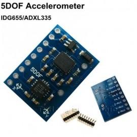 5DOF акселерометр + dual-axis gyro IDG500/IDG655 650 ADXL335