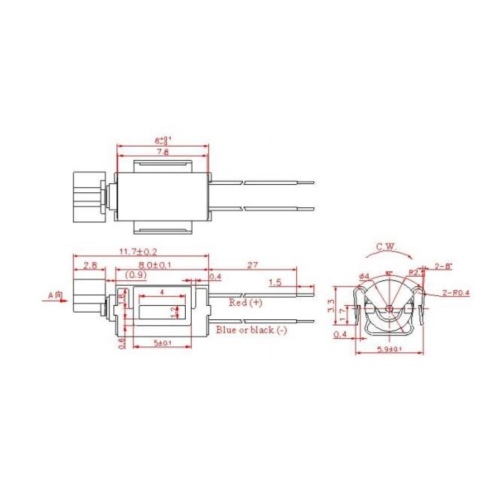 Моторчик Mini Vibration Motor для Arduino
