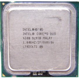 Intel Core 2 Duo E4300 1.80 GHz/2 Mb/800 (SL9TB) s775