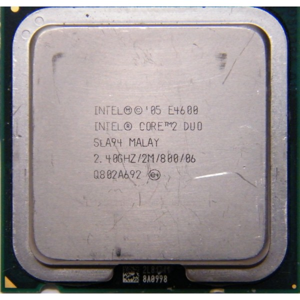 Intel Core 2 Duo E4600 2.40 GHz/2 Mb/800 (SLA94) s775