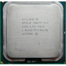 Intel Core 2 Duo E6300 1.86 GHz/2 Mb/1066 (SL9SA) s775