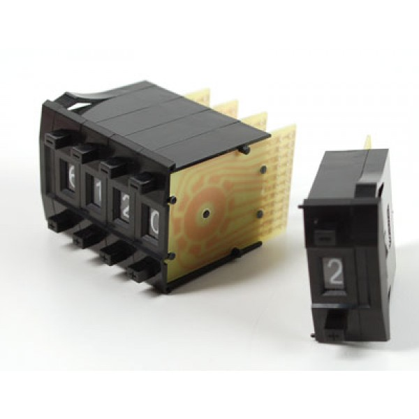 Счетчик Mechanical Decade Counters - большой - набор 5 штук