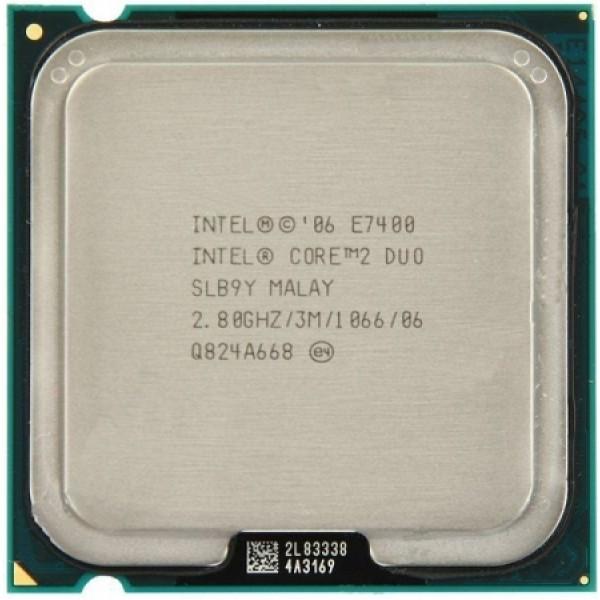 Intel Core 2 Duo E7400 2.80 GHz/3 Mb/1066 (SLB9Y) s775