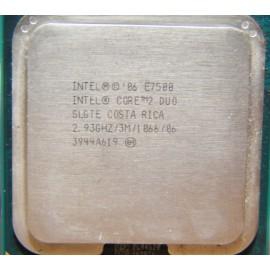 Intel Core 2 Duo E7500 2.93 GHz/3 Mb/1066 socket 775