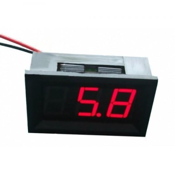 LED измеритель напряжения (красный) для Arduino