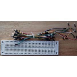 SYB-130 Доска Breadbord + Jumpers 65шт для Arduino