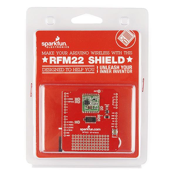 Шилд RFM22 Wireless Shield - розничная версия