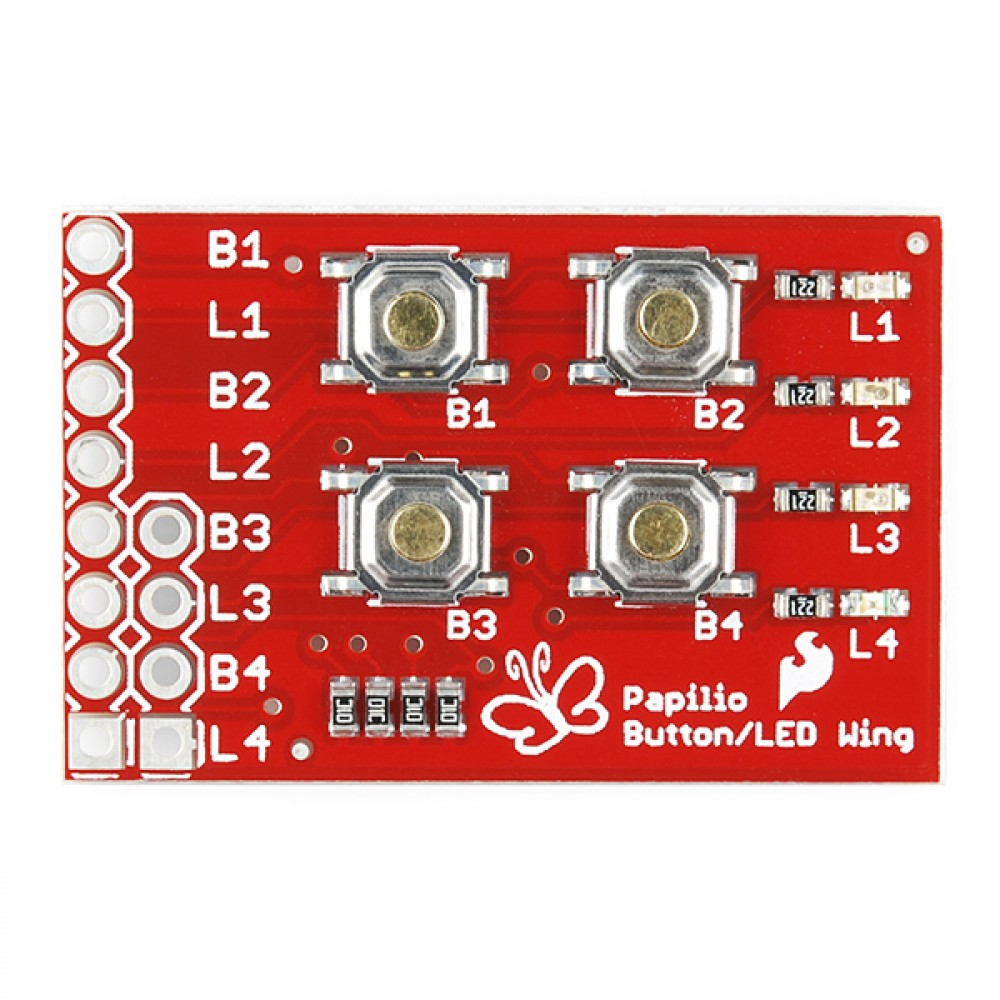 Набор Papilio Button LED Wing