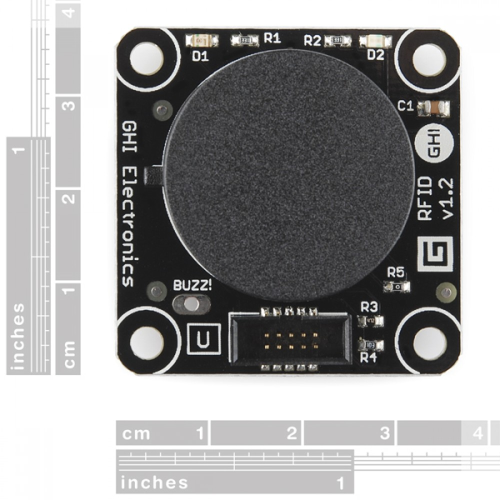 Gadgeteer - модуль RFID-ридера