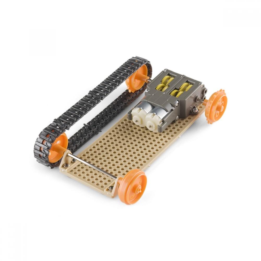 Гусеницы для танка (Arduino)