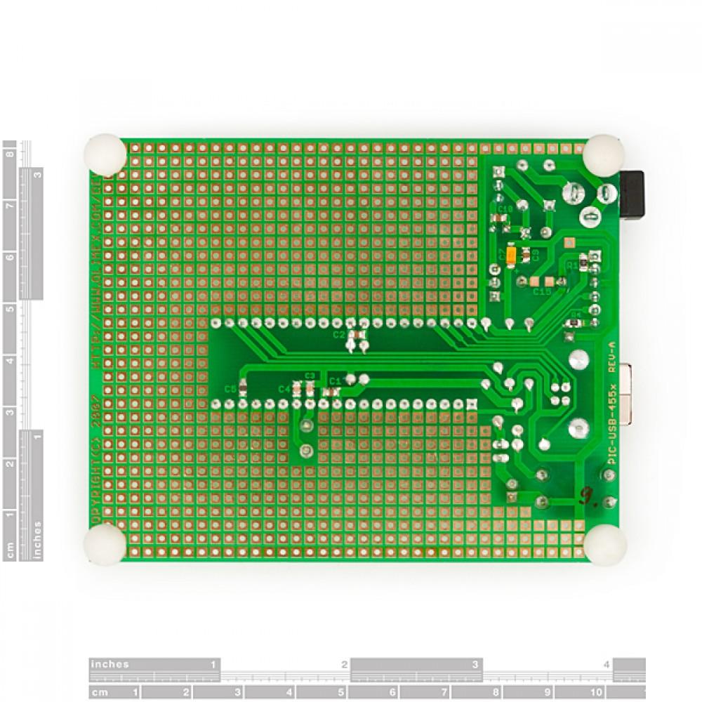 PIC-макетная плата 40-пиновая для PIC18F4550 с USB