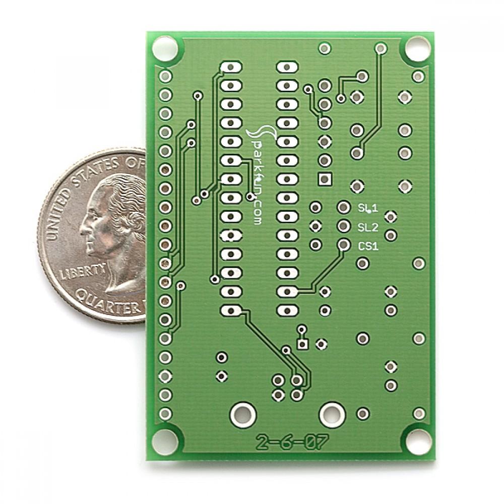 Макетная плата USB Bit Whacker - 18F2553 PTH Kit